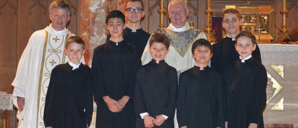 Father McIntosh's Farewell Mass