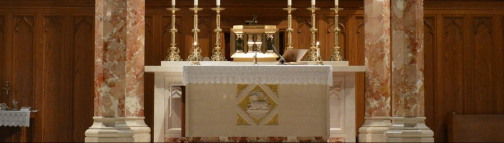 ALTAR GUILD MINISTRY ST. THERESA CHURCH TRUMBULL CT