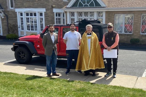 PALM SUNDAY PROCESSION TRUMBULL FROM ST. THERESA CHURCH