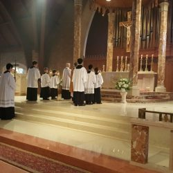 ALTAR SERVERS ST. THERSA CHURCH TRUMBULL
