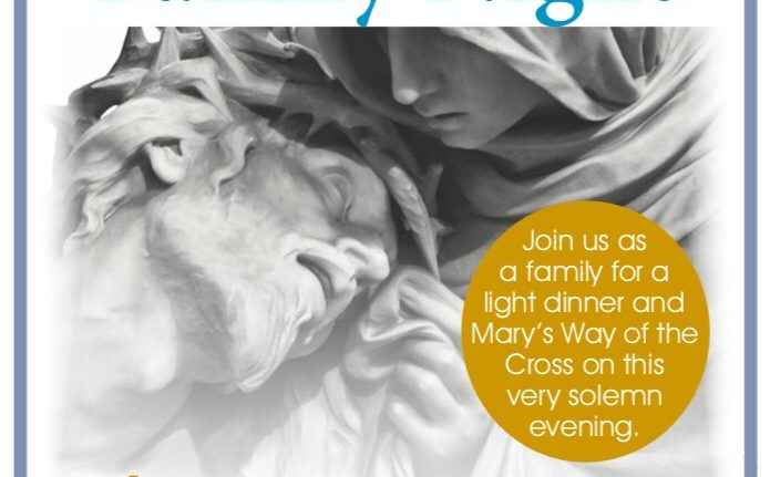 Pasta Dinner Good Friday Hosted by STAY | St. Theresa Apostolic Youth Ministry