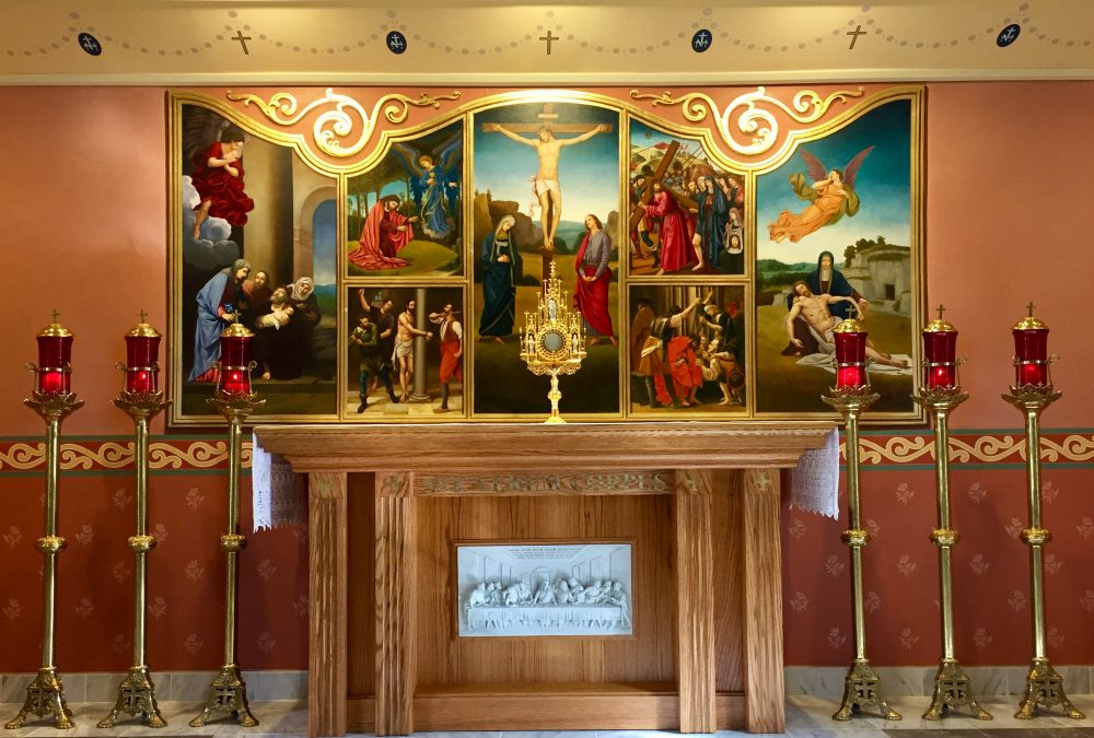 OUR LADY OF FATIMA CHAPEL FOR PERPETUAL EUCHARISTIC ADORATION TRUMBULL CT