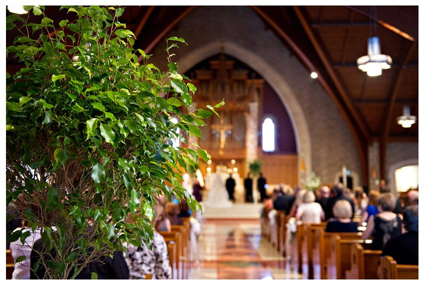 WEDDING COORDINATOR AT ST. THERESA TRUMBULL