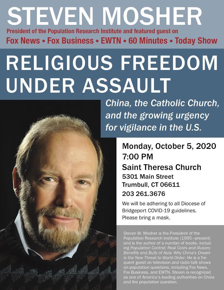 RELIGIOUS FREEDOM TALK