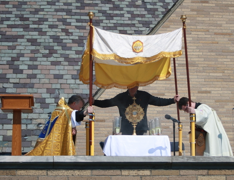 EUCHARISTIC ADORATION ST. THERESA CHRUCH ROOF TRUMBULL CT