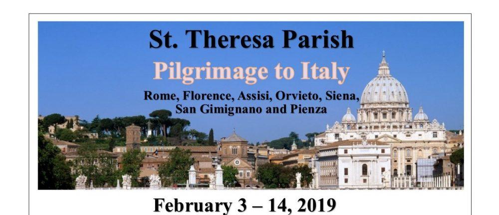 Pilgrimage to Italy