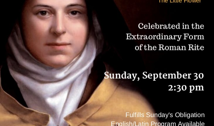 The Feast of St. Therese