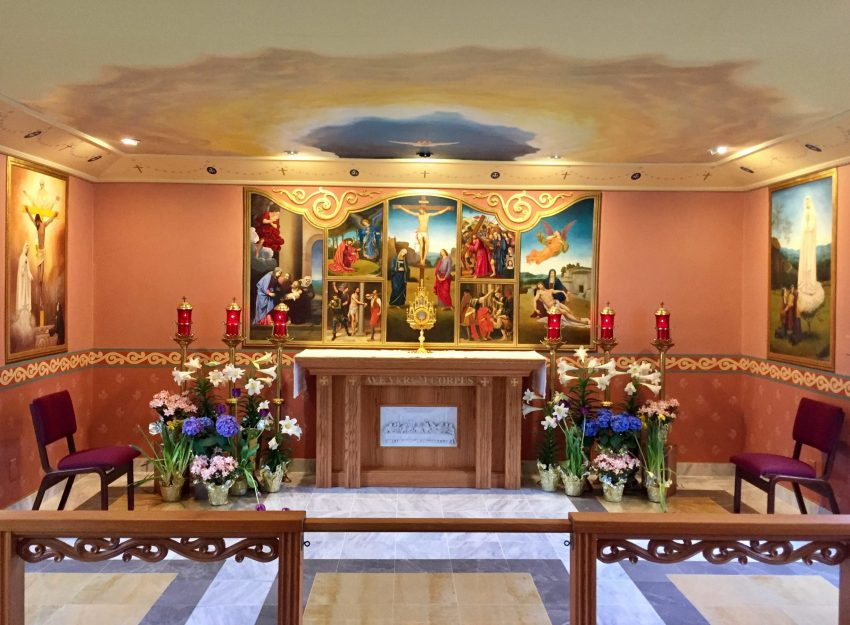 OUR LADY OF FATIMA CHAPE FOR PERPETUAL ADORATION
