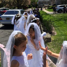 FIRST HOLY COMMUNION ST. THERESA CHURCH TRUMBULL