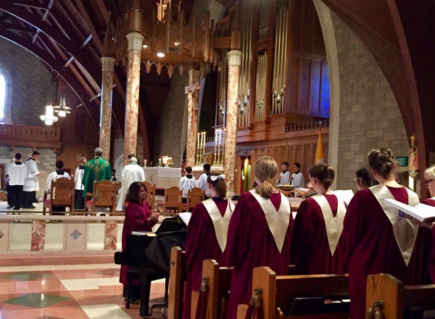 CHOIR AT ST. THERESA CHURCH