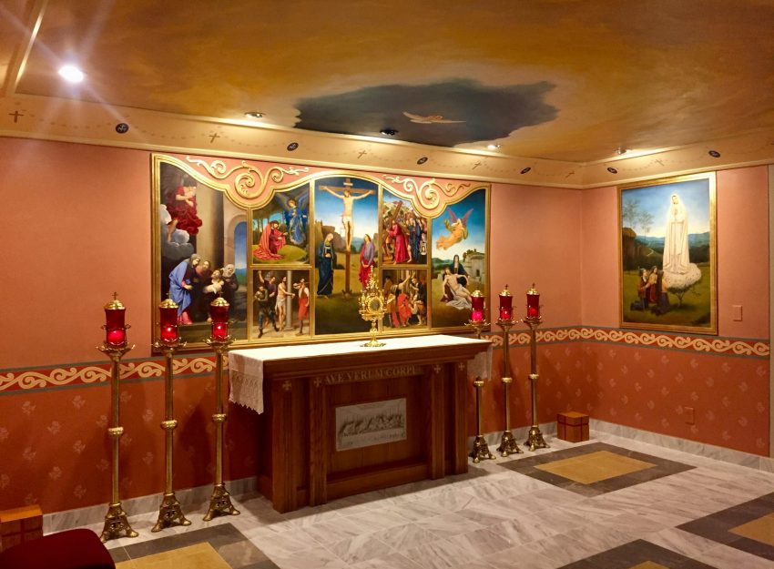 OUR LADY OF FATIMA CHAPEL FOR PERPETUAL EUCHARISTIC ADORATION