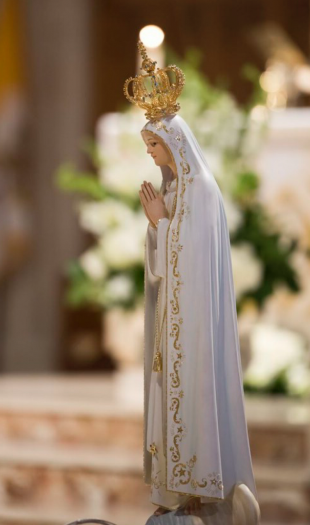 OUR LADY OF FATIMA STATUE ST. THERESA CHURCH