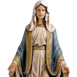 TRAVELING STATUE OF THE BLESSED MOTHER
