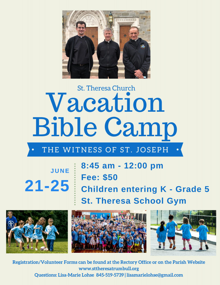 Vacation Bible Camp 2021