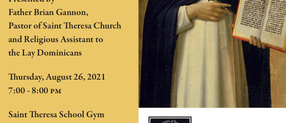 LAY DOMINICAN OPEN HOUSE – TREASURES OF THE EUCHARIST