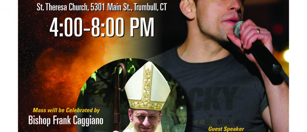 TRUMBULL CATHOLIC YOUTH DAY WITH JUSTIN FATICA